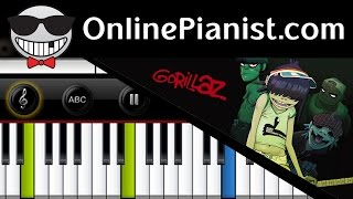 How to play Clint Eastwood by Gorillaz on Piano - Tutorial & Sheets Easy