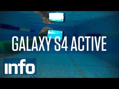 O Samsung Galaxy S4 Active tira fotos embaixo d'água