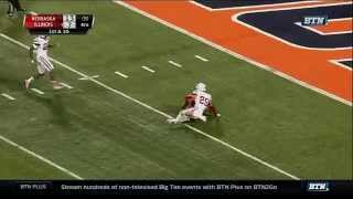 Nebraska at Illinois - Football Highlights