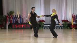 Repeat youtube video 2012 US Open Swing Dance Championships -  Classic Division Champions