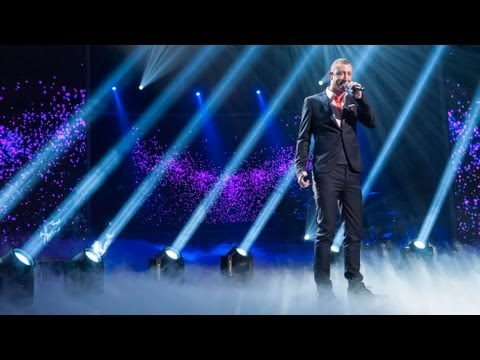 Christopher Maloney sings Josh Groban's You Raise Me Up - Live Week 9 - The X Factor UK 2012