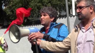 Suruç'taki saldırı protesto edildi (telif hakkı:Ünsal Turan)