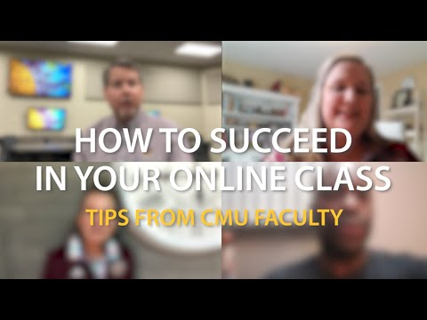 How To Successfully Shift To Online Classes At CMU
