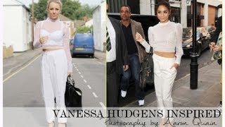 Celebrity Vanessa Hudgens Inspired OOTD - PETITESIDEOFSTYLE