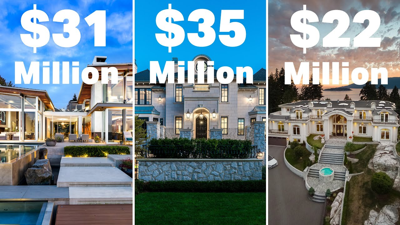 Tour some of the most expensive mansions in Canada $80,000,000+