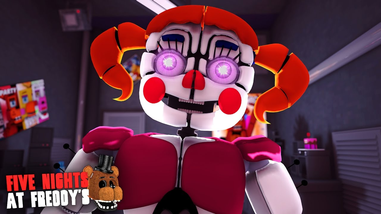 Minecraft Five Nights At Freddy S 26 Baby Animatronic Youtube