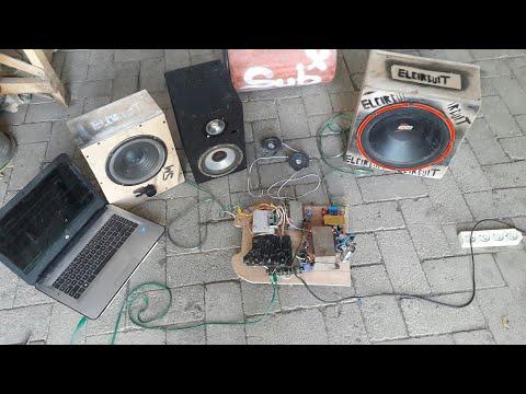 200W Class-D Amplifier Compact, Powerful, Low Cost, High Efficient. elcircuit.com