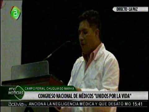 Medicos de la ELAM crean la Confederacion Medica de Bolivia, en su Congreso