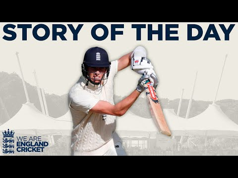 Zak Crawley hits 76 as Visitors Gain Upper Hand | England v West Indies 1st Test Day 4 2020