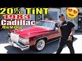Tinting A 1983 Cadillac Coupe DeVille with 20% Tint