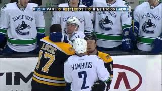 Canucks vs. Bruins Massive Line Brawl - NHL 7/1/12