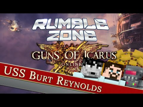 Guns of Icarus - USS Burt Reynolds - Yogscast Rumble Zone