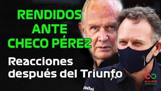 CHECO CONVENCE A TODOS EN LA F1