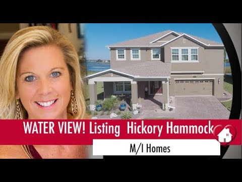 New Listing Winter Garden Florida  Five Bedroom Water View Home in Desirable Hickory Hammock!