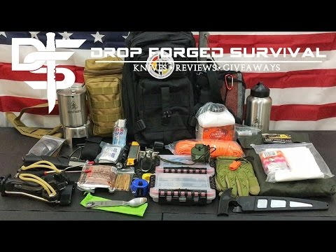 My Bug Out Survival Bag - 2017