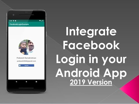 How To Add Facebook Login With Your Android App (2019 Version)