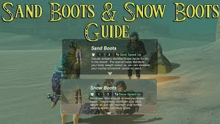 How to Get Sand & Snow Boots ! The Eighth Heroine & The Forgotten Sword Side Quest