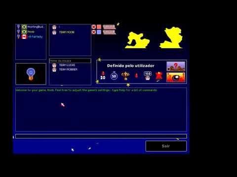 Como Criar Sala,usar HostingBuddy E Jogar Online -  Worms Armageddon
