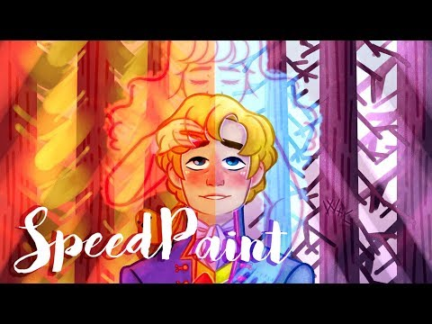 Book Week Poster - The Sorrows of Young Werther (Speedpaint)