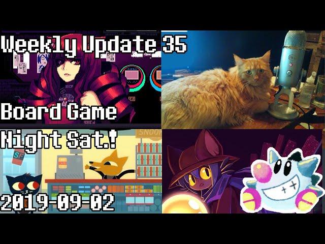 Weekly Update 35   Patreon Board Game Night this week!