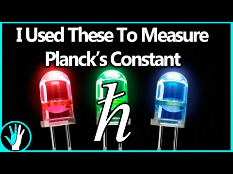 A Simple Method For Measuring Plancks Constant