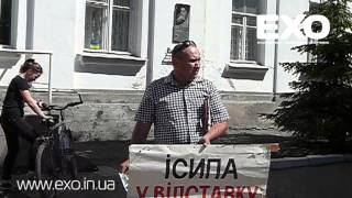 Микола Теренін пікетував Кобеляцьку міськраду
