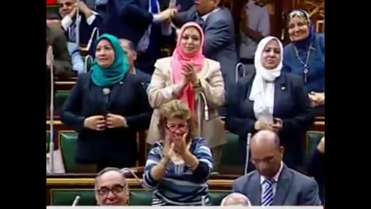 نواب المصريين الاحرار تحت القبه(١)