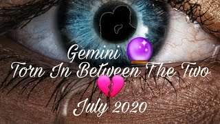 Gemini 🔮 Torn In Between The Two 💔|
