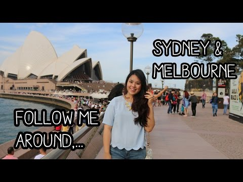 Travel Vlog: Follow me around to Sydney & Melbourne, Austral