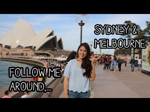 Travel Vlog: Follow me around to Sydney & Melbourne, Australia!