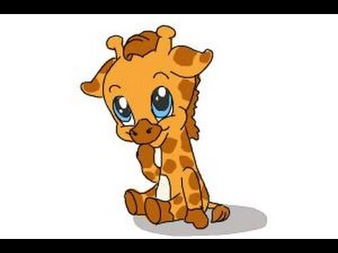how to draw a baby giraffe youtube rh youtube com baby giraffe cartoon baby giraffe cartoon