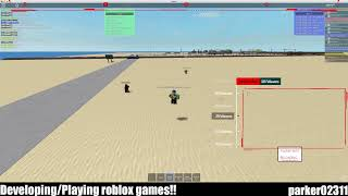 Developing/Playing roblox games!!
