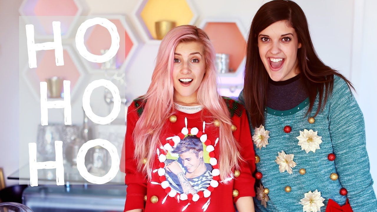Ugly Christmas Sweater Challenge - YouTube