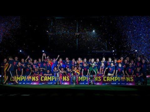 FC Barcelona ► Treble   The MOVIE   2015   HD