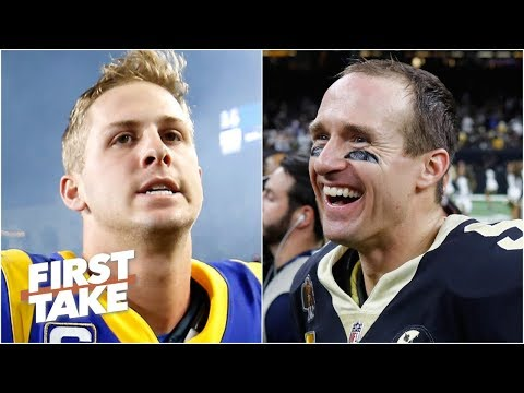 The Saints will win the NFC over the Rams because Jared Goff will choke - Max Kellerman | First Take
