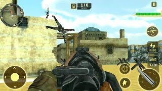 World War 2 Army Survival : FPS Sniper Shooter Android Gameplay by The Game Feast
