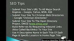 How To Increase Traffic To Your Church Website - Part 2