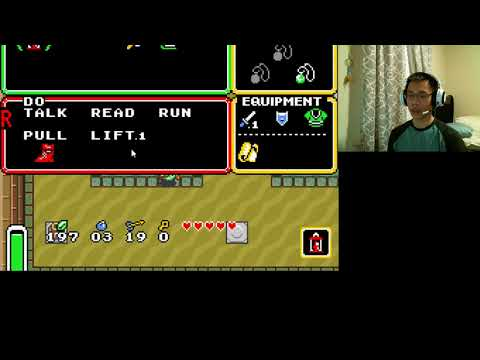 Let's Play A Link to the Past! Found the Book and Master Sword!