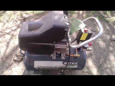 Замена масла в компрессоре и ТО