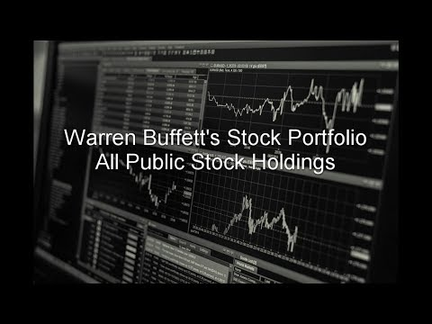 Warren Buffett's Stock Portfolio