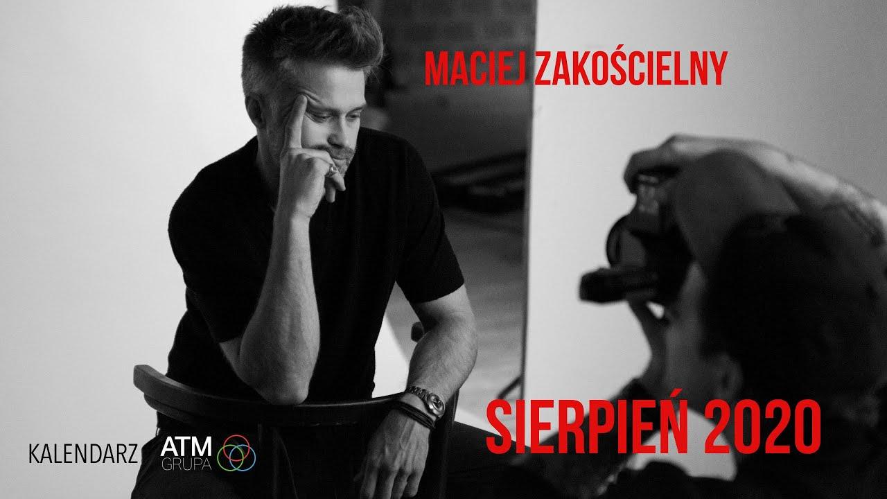 🔥🔥 SIERPIEŃ w kalendarzu @ATM Grupa jest naprawdę gorący… 🔥🔥 Oto Maciej Zakościelny! 🧡🧡