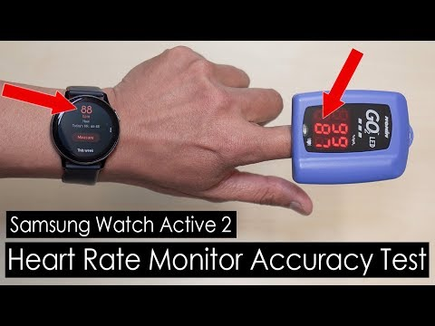 Samsung Galaxy Watch Active 2 Heart Rate Monitor Accuracy Test [4K]
