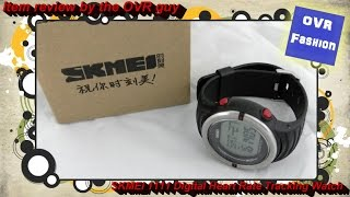 item review skmei 1111 digital heart rate tracking watch