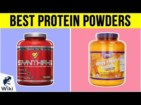 10 Best Protein Powders 2019