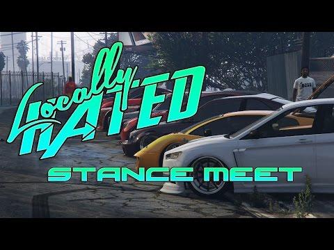GTA V | STANCE MEET | SlammedSociety