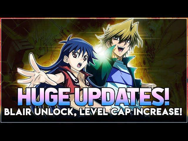 Yu-Gi-Oh! Duel Links | HUGE UPDATES! Blair UNLOCK! DSOD Level Cap INCREASE! DSOD JOEY UNLOCK & MORE!