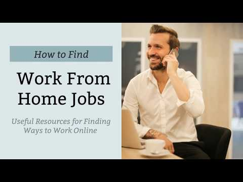 How To Find Legitimate Work From Home Jobs