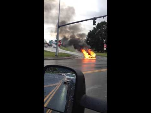 Tesla Stock Plummets After Report Of Model S Catching On Fire