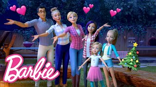 HAPPY HOLIDAYS from Barbie & the Roberts Family  | Barbie Vlogs | @Barbie