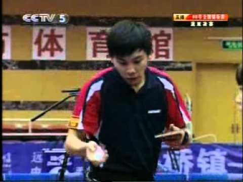2008 Chinese National Championships XD F Chen Qi Chen Qing vs Ma Long Guo Yan